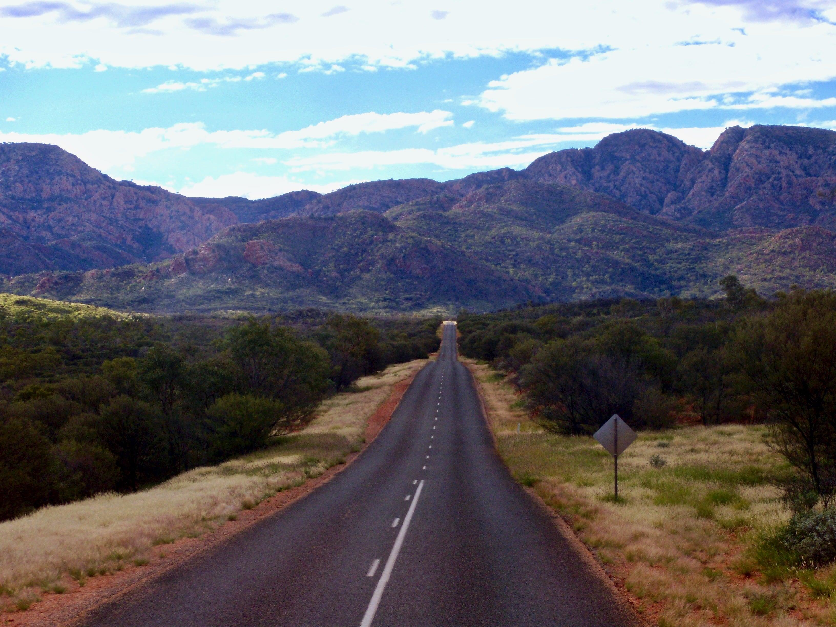 un road trip l'Australie